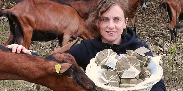 Alessia Berra e le sue capre